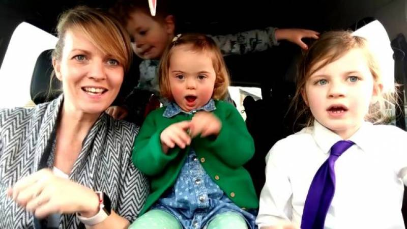 Mums doing carpool karaoke with their kids with Down Syndrome is the cutest thing ever