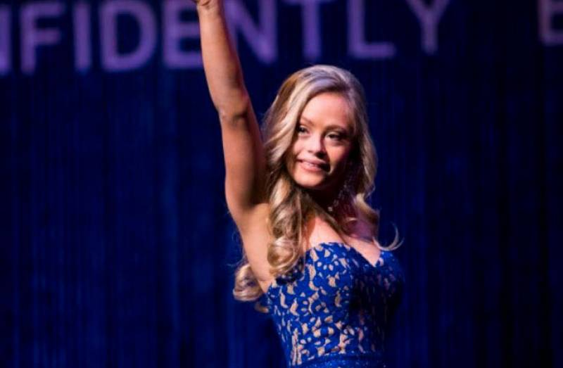 Woman With Down Syndrome Competes In A Miss USA State Pageant For The First Time In History And Her Smile Says It All