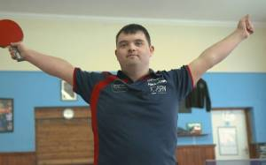 World's first table tennis coach with Down's syndrome