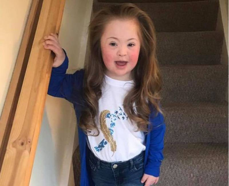 The five-year-old girl changing perceptions of Down's syndrome