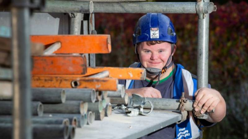 Man With Down's Syndrome Lands Dream Job As A Scaffolder