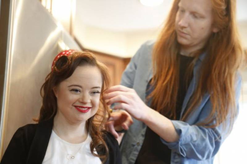 Model with Down's Syndrome is challenging narrow definitions of beauty